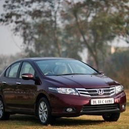 New Honda City diesel to be launched in India next year | Mahindra Cars India | Scoop.it