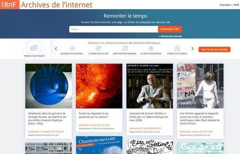 Tweet from @DLWebBnF   La vie des BibliothèqueS   Scoop.it