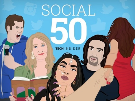 THE SOCIAL 50: The best people on the internet right now - Tech Insider (blog) | Digital Culture | Scoop.it