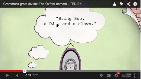 Excellent TED Ed Talks to Improve Students Writing | CGS Literacy, Learning and ICT | Scoop.it