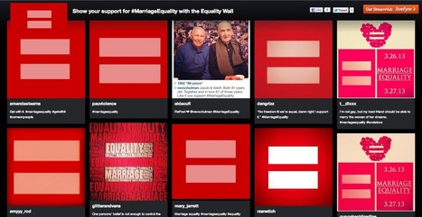 Visualizing Emotion: The Equality Wall | Livefyre on the Web | Scoop.it