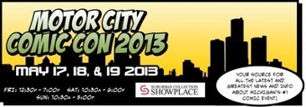 Motor City ComicCon 2013 | Sci-Fi, Fantasy, Horror Movies and Films | Scoop.it