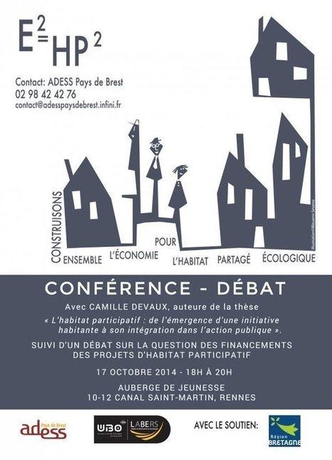 Le financement de l'habitat participatif en conférence-débat - Brest économie sociale et solidaire | HabiterAutrement | Scoop.it