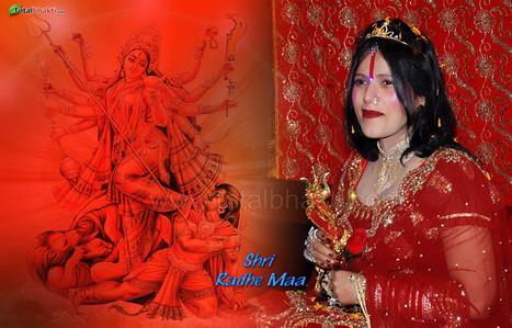 radhe-maa wallpaper, Hindu wallpaper, Shri Radhe Maa Wallpaper,, Download wallpaper, Spiritual wallpaper - Totalbhakti Preview | totalbhakti | Scoop.it