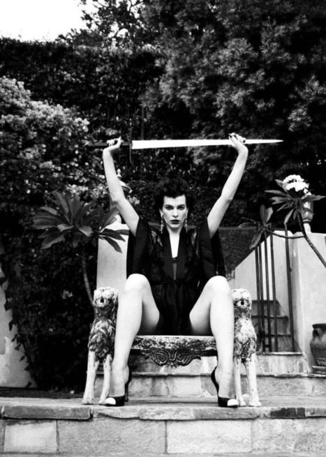 Gene Lemuel: Milla Jovovich - Le Journal de la Photographie   Photography Now   Scoop.it