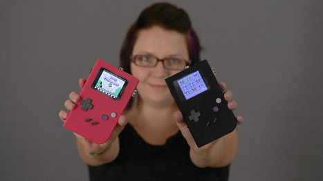Make Your own Raspberry Pi Gameboy Replica | Raspberry Pi | Scoop.it