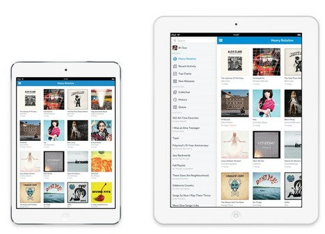 Rdio Sharpens Up for iOS, Android: Clean Design, Neat Features | Music business | Scoop.it
