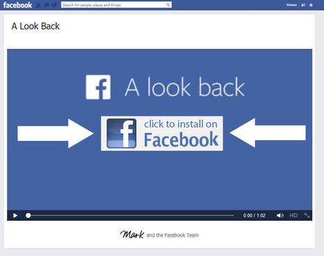 Don't be tricked by the Facebook 'A look back' virus #FacebookIs10 | Cyberwarzone | Info Security News | Scoop.it