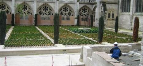 Les jardins d'Albane à l'ombre de Notre-Dame - Tendance Ouest Rouen | MaisonNet | Scoop.it