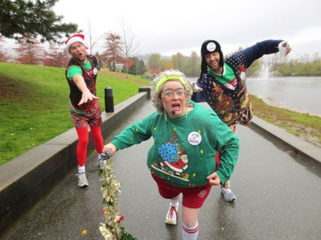 Ugly sweaters help charity - Coquitlam Now   Sick Kids   Scoop.it