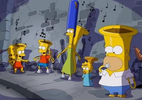 """Simpsons Couch Gag """"Music Ville"""" Pays Homage to 1930s Disney Animation [UPDATED]   Love   Scoop.it"""