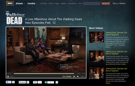 Inside look at social TV after-show 'The Talking Dead' [Interview] | Transmedia: Storytelling for the Digital Age | Scoop.it