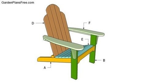 Adirondack Chair Plans Free | Free Garden Plans - How to build garden projects | DIY Plans | Scoop.it