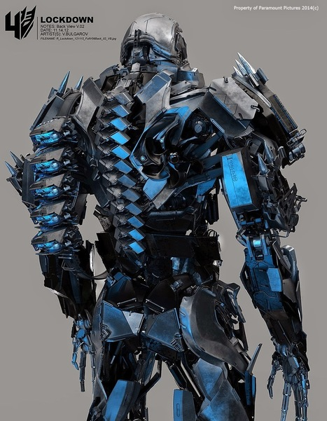 TRANSFORMERS 4: Lockdown's Weapon | CG+Architecture | Scoop.it