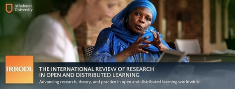 IRRODL Special Issue: OER and MOOCs | OER & Open Education News | Scoop.it
