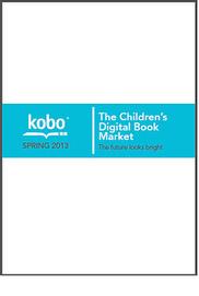 The Children's Digital Book Market: The future looks bright | Artículos, monografías y vídeos. Documenta 37 | Scoop.it