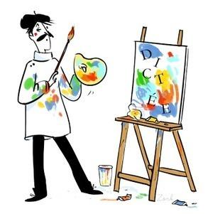 Dictéé : De toutes les couleurs | Arts et FLE | Scoop.it
