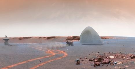 Huizen bouwen op Mars met 3D-print beton | Built Environment | Zuyd Bibliotheek | Scoop.it