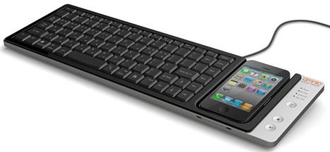 wow-keys iPhone keyboard dock by omnio | Art, Design & Technology | Scoop.it