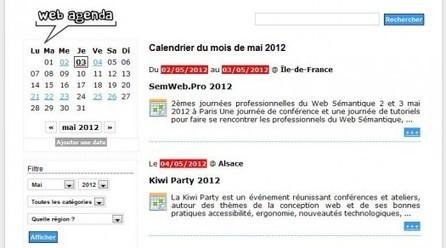 Tous les évènements liés aux nouvelles technologies, Web Agenda | WEB 2.0 etc ... | Scoop.it
