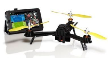 Un Drone léger, pliable et compatible iOS en approche - iPhone 5s, 5c, iPad, iPod touch : le blog iPhon.fr | ReScoop | Scoop.it