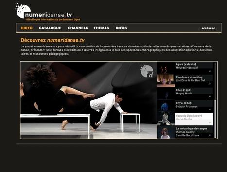 .:: DANSE / numeridanse.tv, une vidéothèque internationale de danse en ligne   Perles de culture -et autres belles créations.   Scoop.it