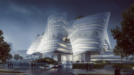 "MAD designs ""building with SKIN and BONES"" for Chinese fashion brand 