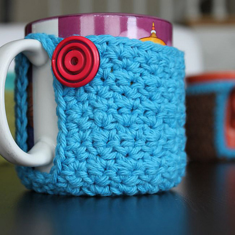 DIY Cute Mug Cozies! Crochet Patterns and Inspiration Right Here! | Daily Dose of Creativity | Scoop.it