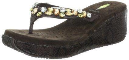 Volatile Women's Masquerade Wedge Sandal   Wedding Shoes   Scoop.it