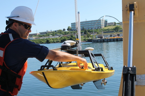 New autonomous surface vehicles to deliver shoaler depth measurements for NOAA nautical charts | Ocean Science | Scoop.it