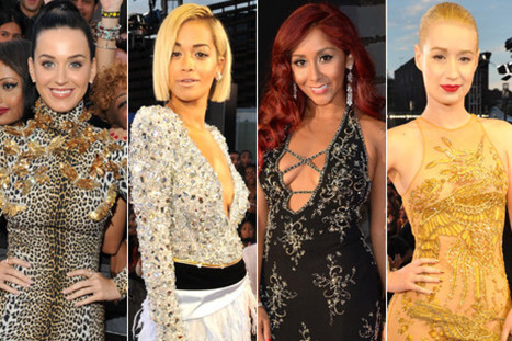 VMA 2013 Red Carpet: Fashion Gets Wild At The MTV Music Awards (PHOTOS) - Huffington Post | CLOVER ENTERPRISES ''THE ENTERTAINMENT OF CHOICE'' | Scoop.it