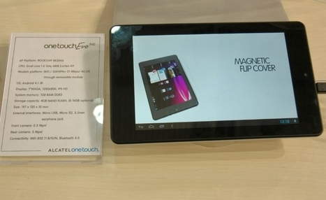 Les smartphones et tablettes du MWC 2013 en images | Richard Dubois - Mobile Addict | Scoop.it