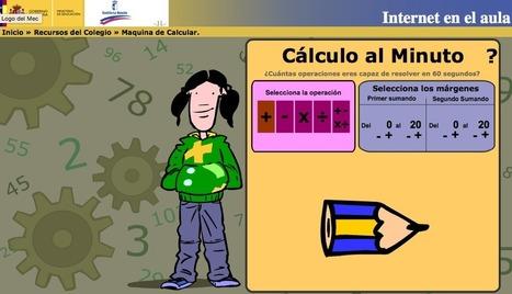 AYUDA PARA MAESTROS: Cálculo al minuto - Una manera divertida de hacer cálculo | RED.ED.TIC | Scoop.it