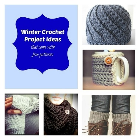 10 Winter Crochet Projects with Free Patterns | Crochet free patterns | Scoop.it