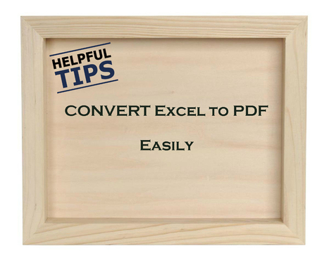 MS Office Tips: Export and Save Your Entire Excel Workbook as A PDF   SEO   Scoop.it
