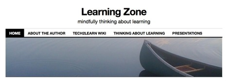 Learning Zone - Blog by Brenda Sherry | TechnologyinLearning | Scoop.it