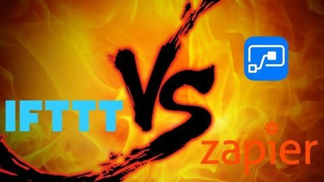 Automation Showdown: IFTTT vs Zapier vs Microsoft Flow | Social Media, SEO, Mobile, Digital Marketing | Scoop.it