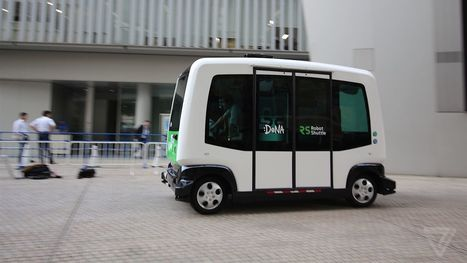 I rode this cute self-driving bus that's coming to Japan next month | Nerd Vittles Daily Dump | Scoop.it