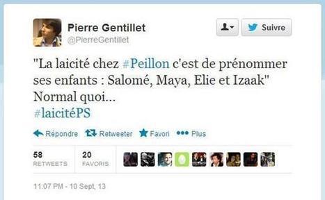 Sur Twitter, le président des Jeunes de la Droite populaire s'excuse après son dérapage | Politiscreen | Scoop.it