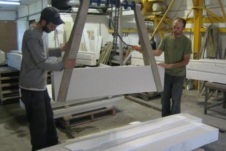 Un béton qui peut «s'autoréparer» en cas de fissures | Béton et aménagement paysager | Scoop.it