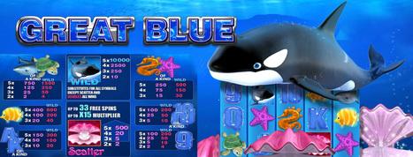 Great Blue Gokkasten Spelletjes | Beste Online Casino spellen en Bonus in Netherlands | Scoop.it