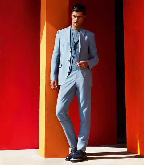 Sean O'Pry for Salvatore Ferragamo Spring Summer 2014 | Paris-Confidential | Scoop.it