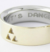 Custom Zelda Wedding Rings: For Geeks Who Wanna Do It Right | Digital-News on Scoop.it today | Scoop.it