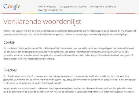 Verklarende woordenlijst - internet begrippen, gemaakt door Google | Educatief Internet | Scoop.it
