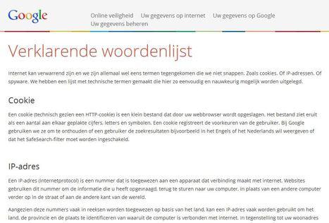 Verklarende woordenlijst - internet begrippen, gemaakt door Google | Mediabewust | Scoop.it