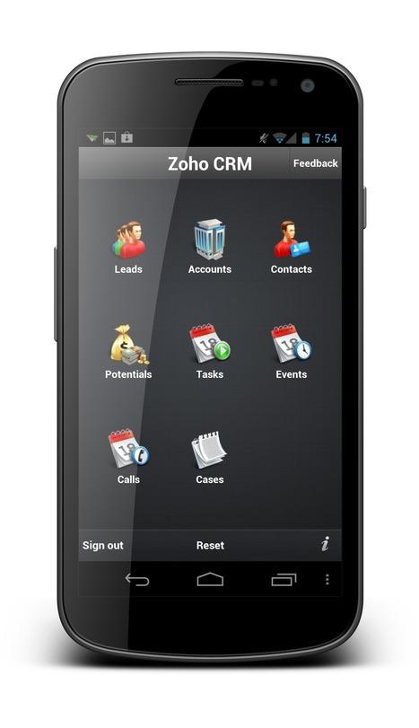 Tres nuevas aplicaciones para móviles de Zoho, CRM, Projects y ... | Gabriel Catalano human being | #INperfeccion® a way to find new insight & perspectives | Scoop.it