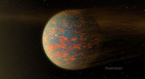 NASA's Spitzer finds two-faced alien planet having solid and liquid surfaces | Amazing Science | Scoop.it