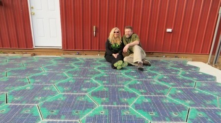 Solar Roadways installs energy harvesting parking lot | Coffee Break | Scoop.it