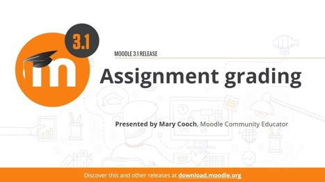 Are You Saving Time With Assignments In Moodle 3.1? | Moodle and Web 2.0 | Scoop.it