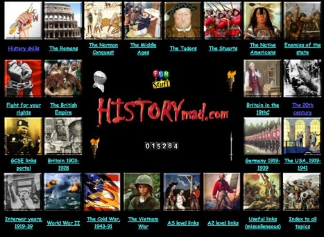 3 Good Resources for History Teachers ~ Educational Technology and Mobile Learning | History 2[+or less 3].0 | Scoop.it